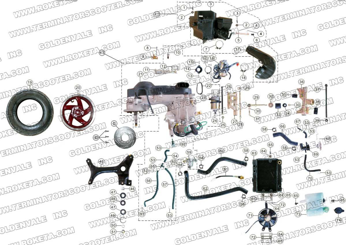 hight resolution of ohv engine diagram spark plug front back