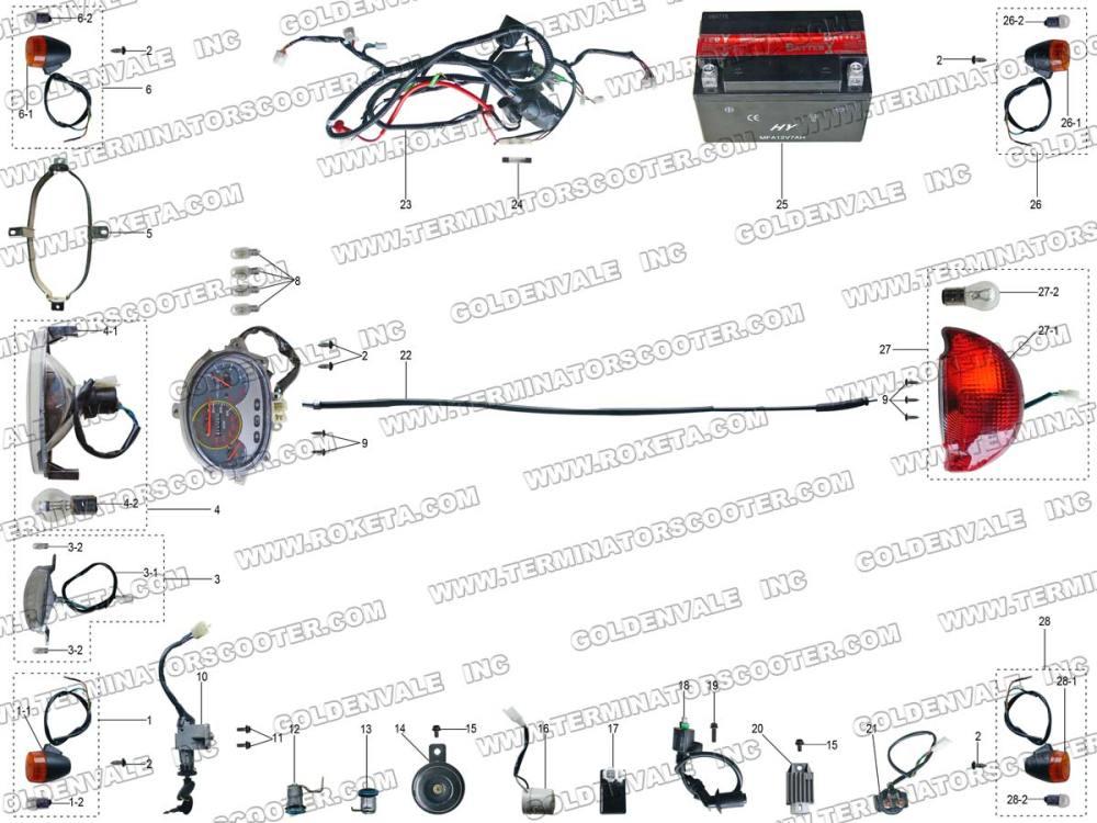 medium resolution of wiring diagram roketa mc 08