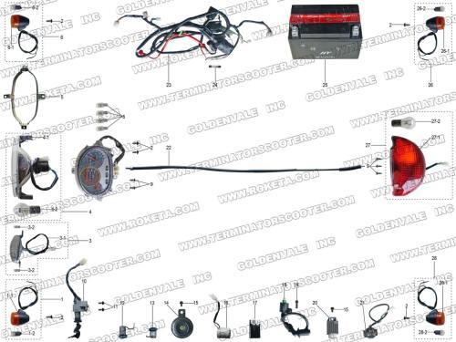 small resolution of wiring diagram roketa mc 08
