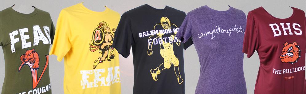 High School T Shirts  School Shirts and Tees  Rokkitwear