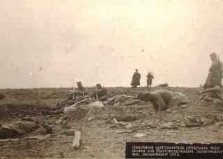 Sahranjivanje vojnika posle bitke