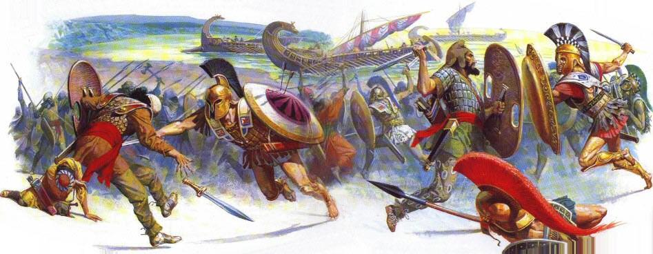 Maratonska bitka, simbol večnosti: Pobeda je ubila glasnika