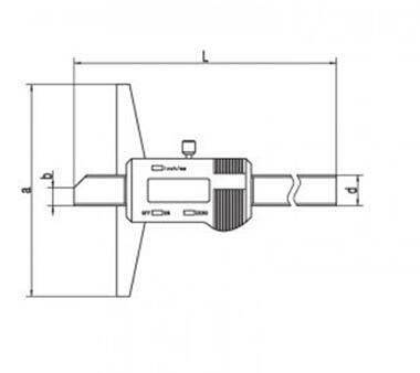 0-1500mm/60 Inch Heavy Duty Electronic Digital Vernier