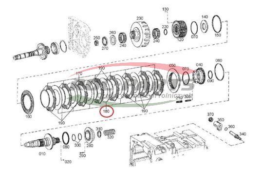 PRZEKŁADKA DEUTZ AGROTRON/FENDT Rol-Parts