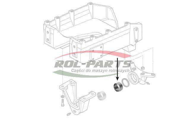 TULEJKA P/NAPĘDU MF 3713930M1 Rol-Parts