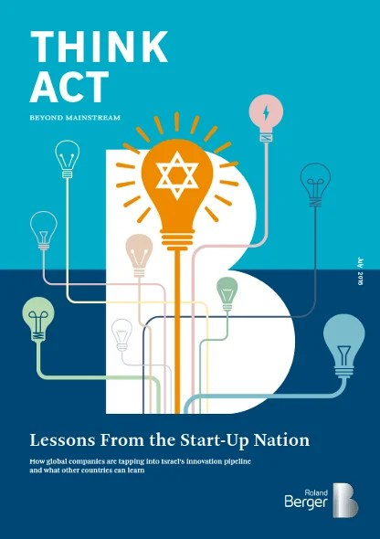 Lessons from the StartUp nation  Roland Berger