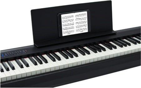 digital sheet music guide roland australia roland australia. Black Bedroom Furniture Sets. Home Design Ideas