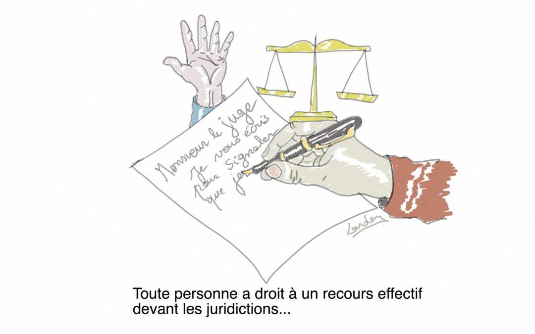 Article 8 de la Déclaration Universelle des Droits de l'Homme