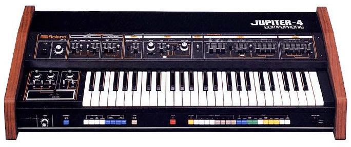 Jupiter-4 Roland Synthesizer