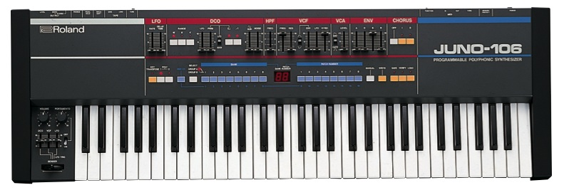 Juno-106 Roland Synthesizer