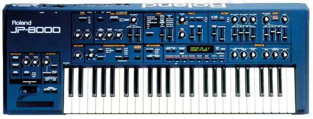 jp-8000 Roland Synthesizer