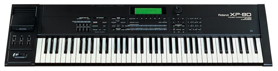 xp-80 Roland Synthesizer