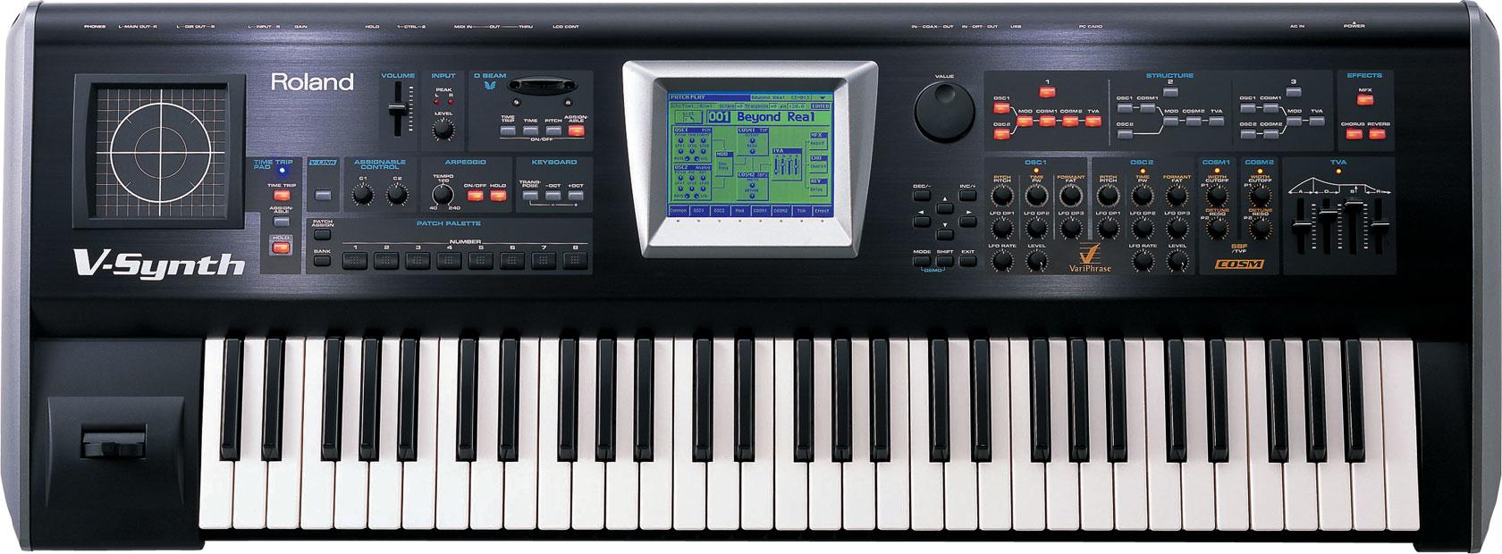 v-synth Roland Synthesizer