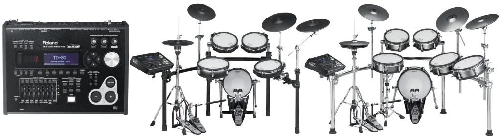 Roland TD-30 drum kit