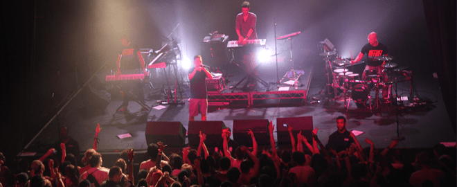 Netsky Live at the Fonda Theater in Los Angeles CA.