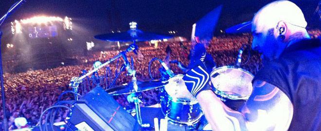 Ministry's Drummer Aaron Rossi