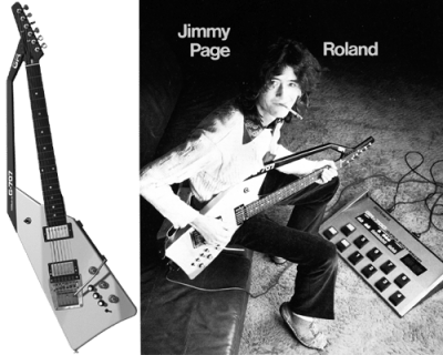 Jimmy Page with a G-707