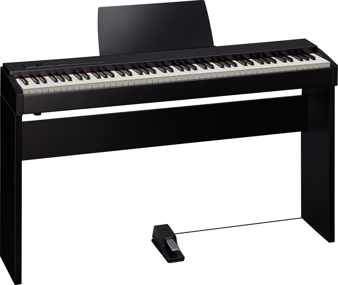 F-20 Digital Piano with Pedal and Matching Stand