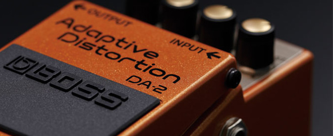 BOSS DA-2 Adaptive Distortion with MDP Technology
