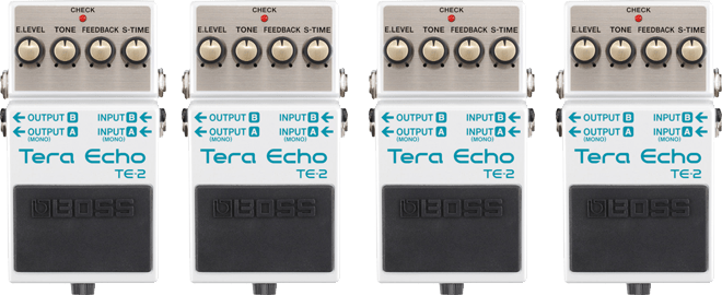 BOSS TE-2 Tera Echo with mdp technology