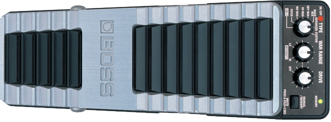 wah pedal used in the metal guitar effects combo