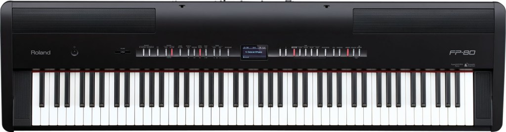 FP-80 Digital Piano With SuperNATURAL Technology
