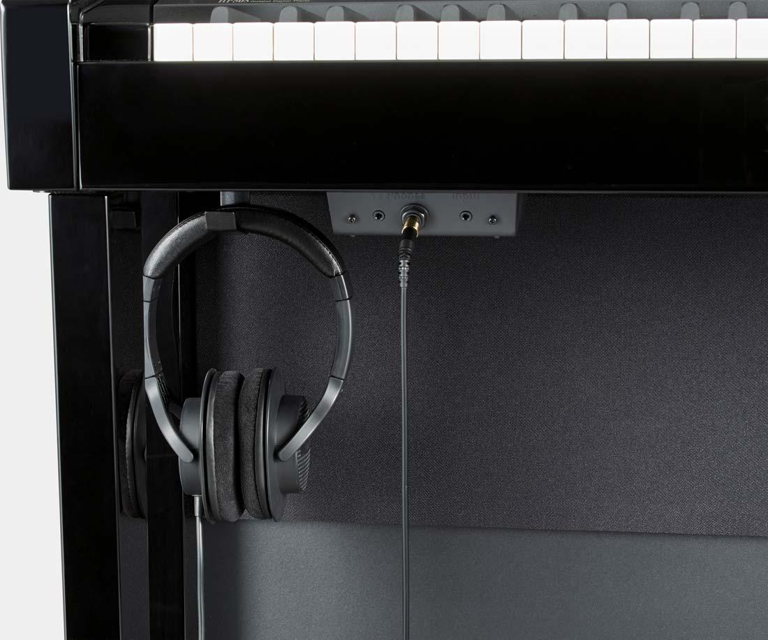 HP508 Digital Home Piano and Headphones