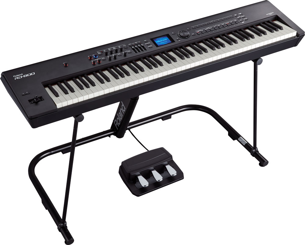 RD-800 Stage Piano and KS-G8B Stand