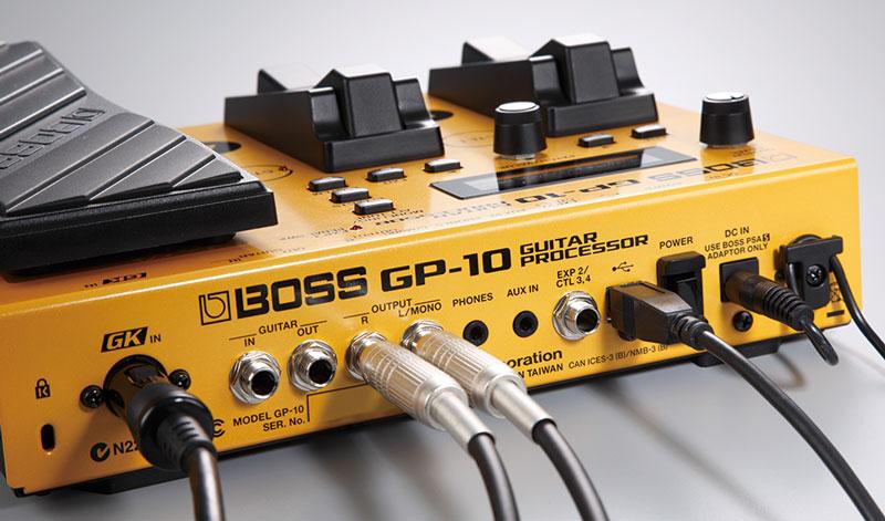 new boss gp 10 guitar processor roland u s blog. Black Bedroom Furniture Sets. Home Design Ideas