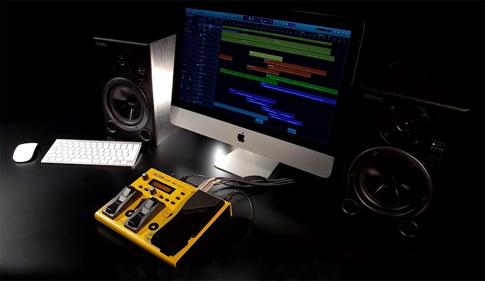 GP-10 Guitar Processor in the studio