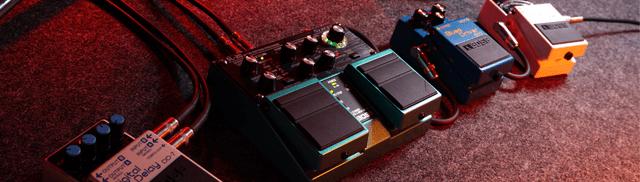 mix & match buffered effects pedals. no true bypass