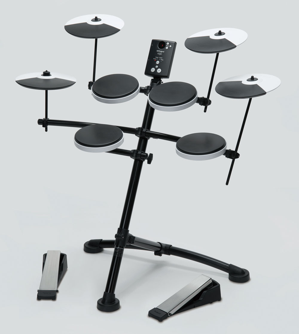 TD-1K V-Drums with Optional OP-TD1C Cymbal Set