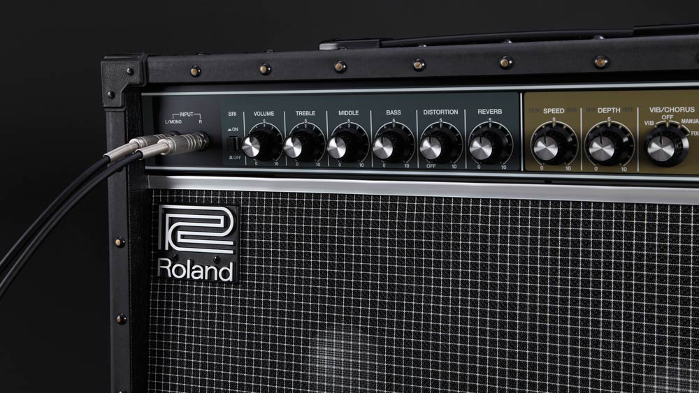 Stereo Input on Roland JC-40 Jazz Chorus Guitar Amp