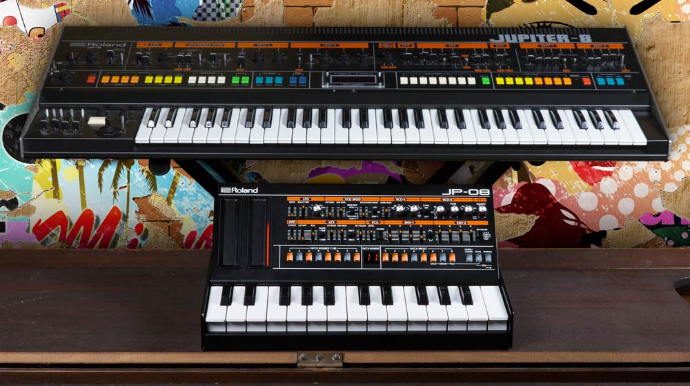 JP-08 Roland Boutique Module and JUPITER-8