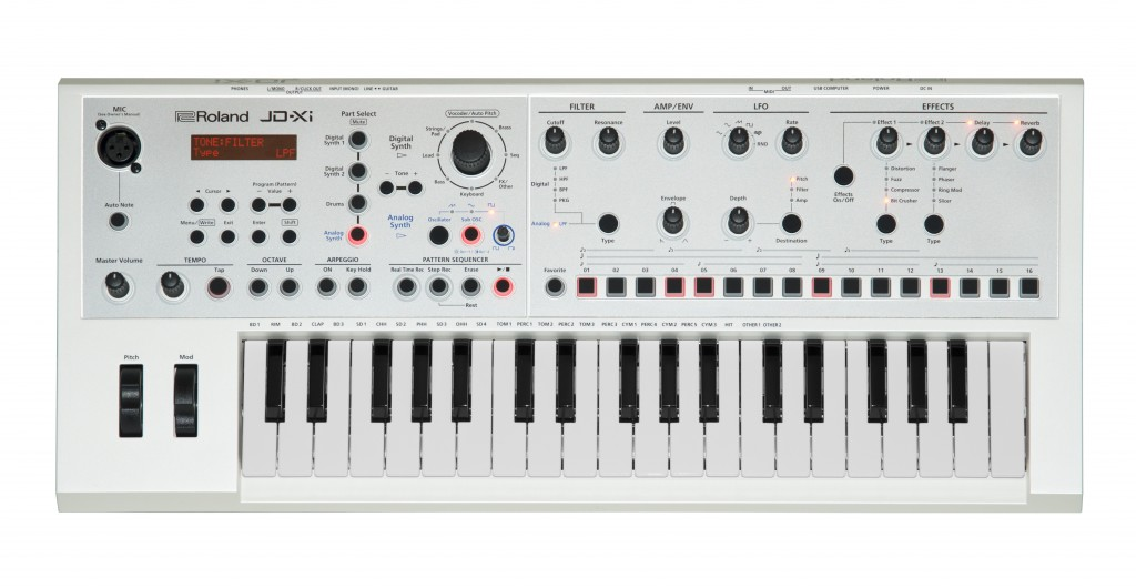 Top panel of JD-Xi in White