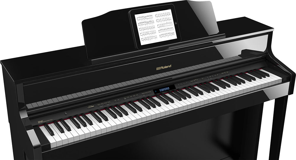 LX/HP digital home piano.