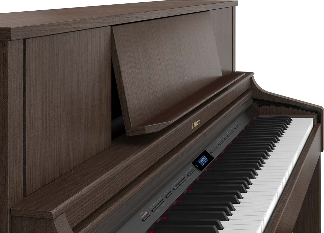 New Roland LX-7 digital home piano with PHA-50 keyboard.
