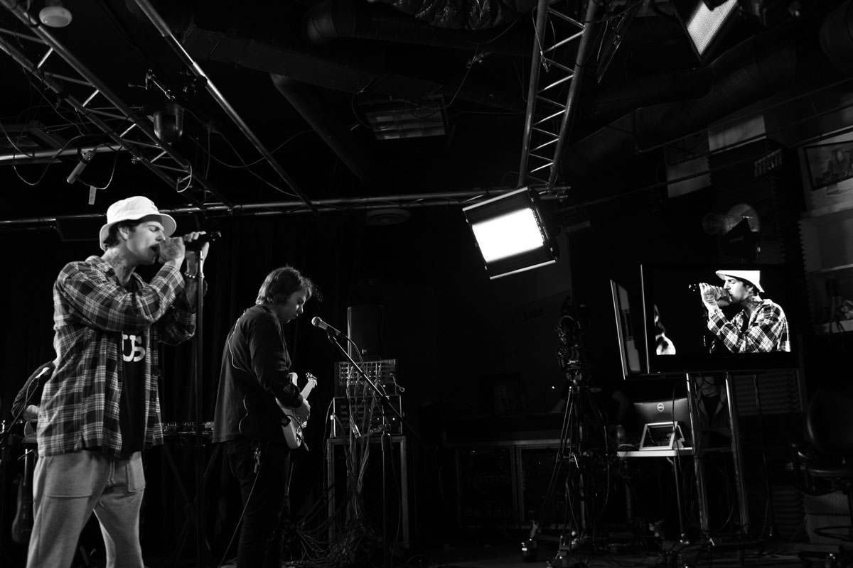 The Neighbourhood performing live at Roland Sessions