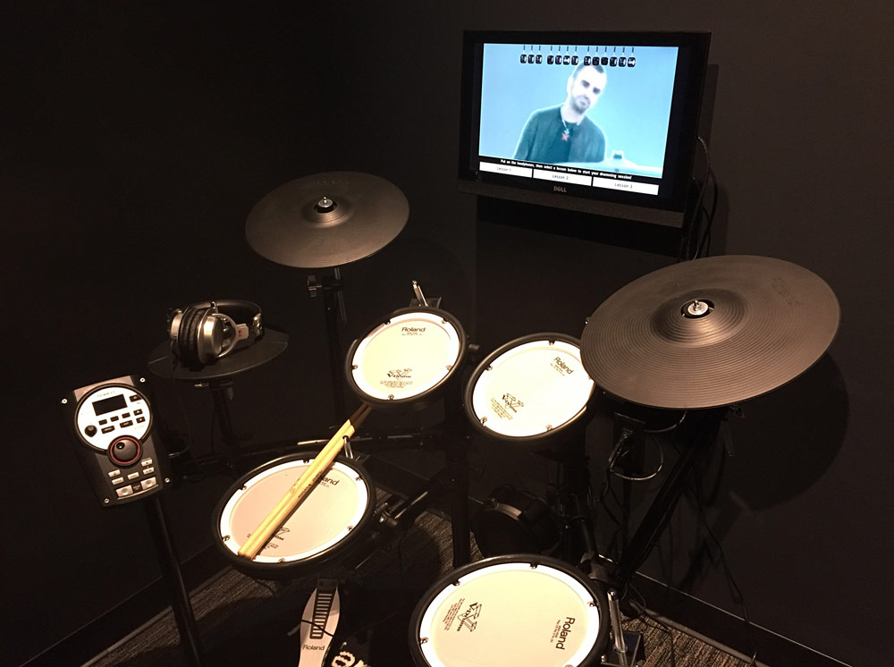 Roland LIVE Studio at the GRAMMY Museum Gallery in Nashville
