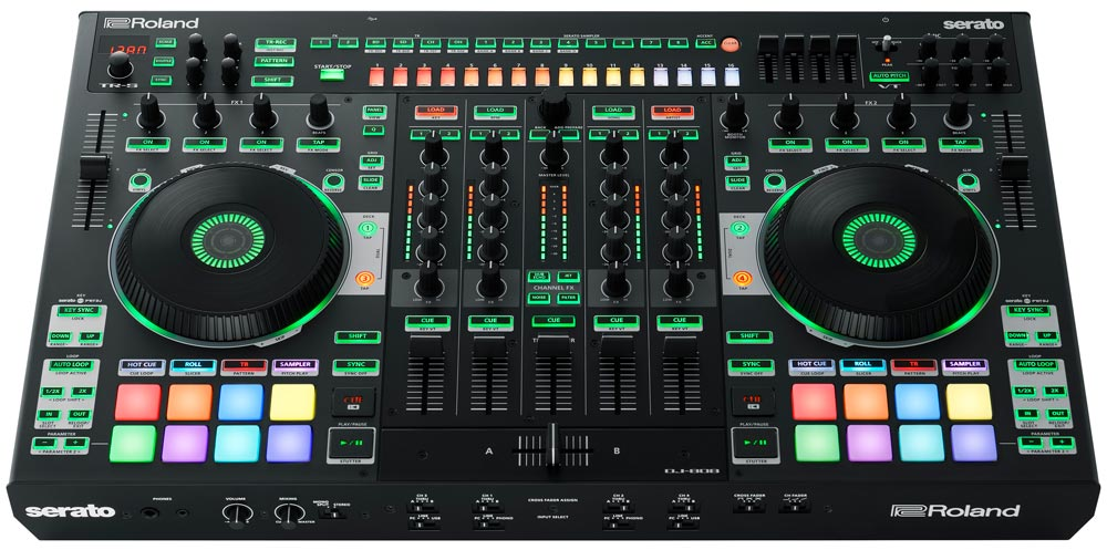The Roland DJ-808 is the first and only instrument for the producer DJ.