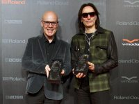 Roland and BOSS Present Lifetime Achievement Awards to Thomas Dolby and Steve Vai