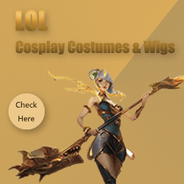 LOL Cosplay Costumes & Wigs
