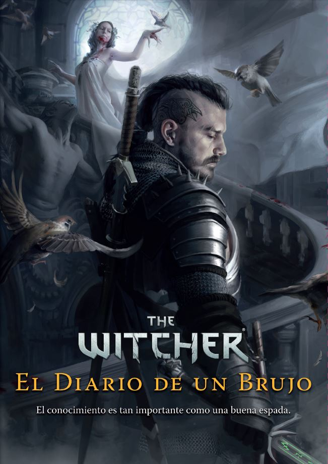 The Witcher Diario de un brujo portada español