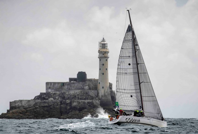 A strong track record in IRC One for Nicolas Loday and Jean Claude Nicoleau's Grand Soleil 43 Codiam