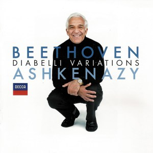 Beethoven: Diabelli-Variations, Ashkenazy, CD cover
