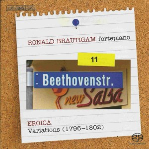 Beethoven: vol.11 - Eroica Variations, Brautigam — CD cover