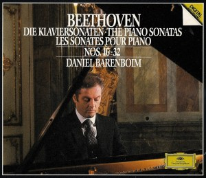 Beethoven: Piano sonatas 16 - 32, Barenboim, CD cover