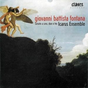 Fontana: Sonate a uno, due e tre, Icarus Ensemble, CD cover