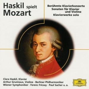 Haskil spielt Mozart, Haskil/Paumgartner/Grumiaux/Fricsay/Sacher, CD cover