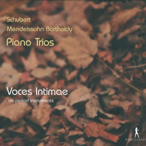 Mendelssohn/Schubert: Piano Trios — Voces Intimae; CD cover